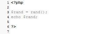 Membuat Random Angka Dengan PHP