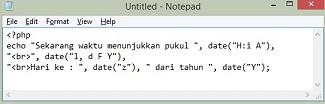 Cara Bekerja Dengan Date, Time & File dalam PHP