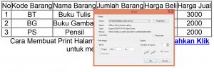 Cara Membuat Print Halaman Menggunakan PHP