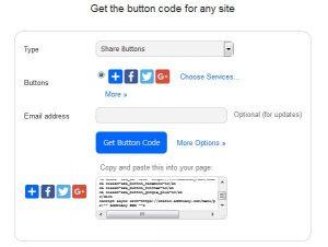 Cara Menampilkan Sebuah Share Button Dalam Website