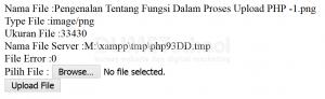 Pengenalan Tentang Fungsi Dalam Proses Upload PHP