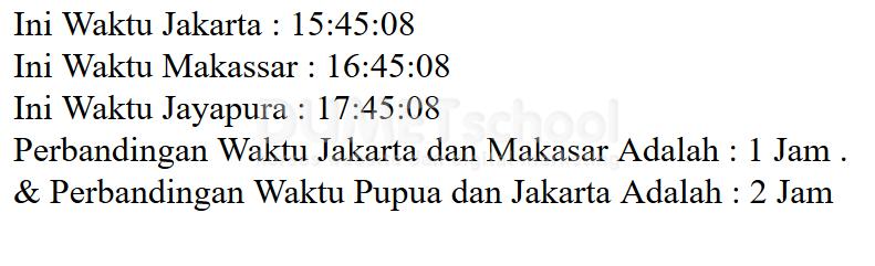 Cara Mudah Mengatur Waktu (Time_Zone) Khusus ASIA (Indonesia)