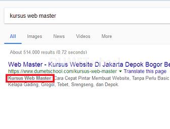 cara membuat bold pada hasil pencarian di php