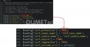 Mengenal CSRF Protection Pada Codeigniter 3.0