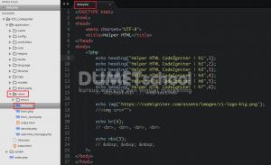 Mengenal HTML Helper Pada Codeigniter
