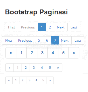 Cara Membuat Paging Bootstrap Di PHP Part4