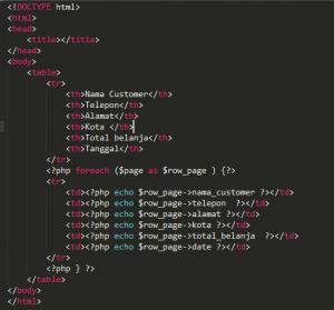 Cara Membuat CRUD dengan Codeigniter Part 1
