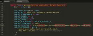 Cara Mendapatkan Data JSON Ongkir Pada Raja Ongkir Menggunakan Codeigniter