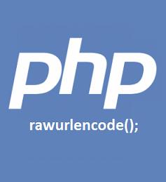 Fungsi rawurlencode() Di PHP