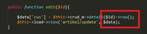 Cara Membuat CRUD dengan Codeigniter Part 5