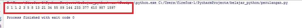 Cara Membuat Perulangan Fibonacci Pada Python
