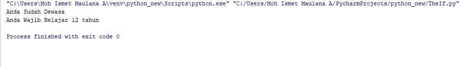 Belajar Kondisi (IF) Pada Python 3.6