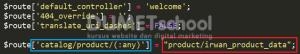 Cara Manipulasi Nama Controller Pada Framework Codeigniter