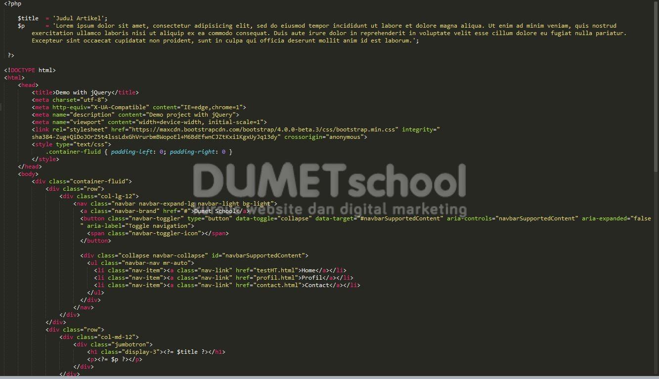 Cara Mengganti Extensi PHP Menjadi HTML Menggunakan HTACCESS