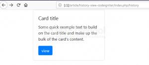 Cara Membuat History View Menggunakan Codeigniter Part 1
