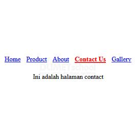 Cara Membuat Menu Active Berdasarkan Halaman Yang Sedang Aktif Dengan PHP Dan Jquery Part2