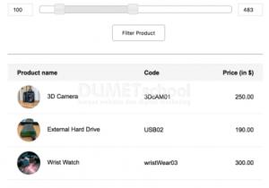 PHP Price Range Search menggunakan jQuery Slider