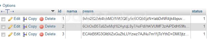 Cara Membuat Enkripsi Chat Sederhana Menggunakan Codeigniter PART III