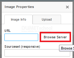 cara memasang responsive file manager di ckeditor browse