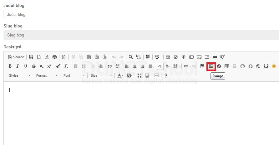 cara memasang responsive file manager di ckeditor part2