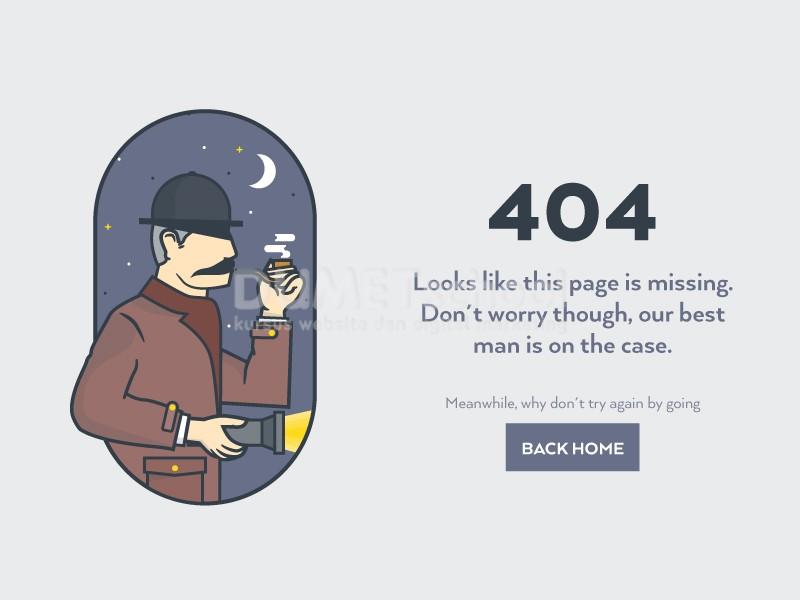 Cara Membuat Halaman Tidak Ditemukan 404 Menggunakan Codeigniter