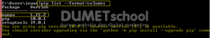 Cara Menginstall Eksternal Package Dengan Menggunakan Pip Pada Python