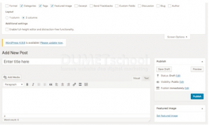 Cara Set Image untuk Halaman Post WordPress