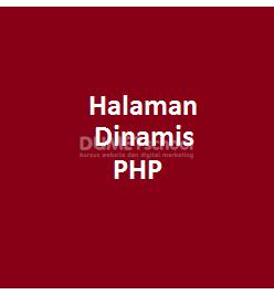 Cara Membuat Halaman Dinamis Dengan Method GET PHP Part2