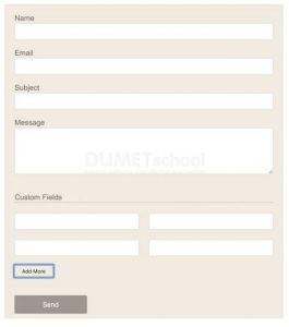 Cara Membuat Form Contact Custom dengan PHP