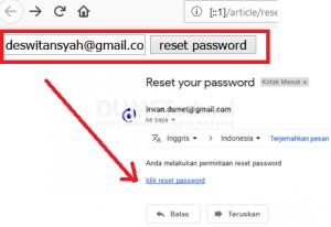 Reset Password Dengan Verifikasi Email Menggunakan Codeigniter Part 2