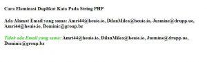 eleminasi-Duplikat Kata di PHP