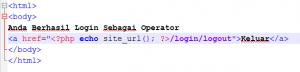 Multi Login CodeIgniter