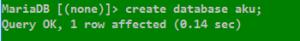 Project Membuat Crud Databases MySQL di COMAND PROMP pada WINDOWS