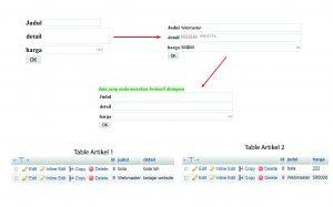 Cara Menginput Data di Tabel yang Berbeda Menggunakan PHP MySQL-3