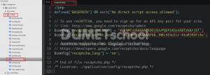 Cara membuat recaptcha Google pada Codeigniter