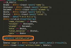 Cara Membuat CRUD dengan Codeigniter Part 3