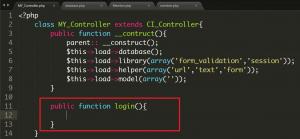 Cara Membuat Login Member Menggunakan Codeigniter Part 2