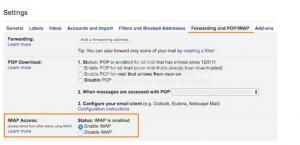 Gmail Email Inbox menggunakan PHP dengan IMAP