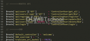 Cara Melakukan Konfigurasi API Pada Codeigniter Part 2