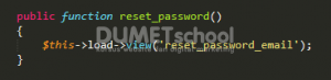 Reset Password Dengan Verifikasi Email Menggunakan Codeigniter Part 1