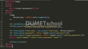 Reset Password Dengan Verifikasi Email Menggunakan Codeigniter Part 3