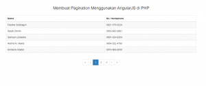 1-Cara membuat pagination dengan AngularJS