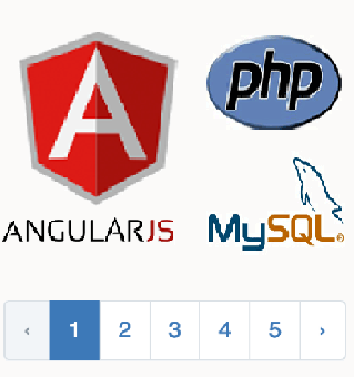 Cara Membuat Pagination Dengan AngularJS Dalam PHP MySQL