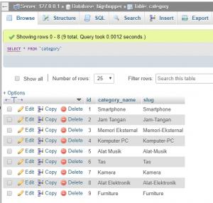 Cara Select Data MySQL Dengan Konsep PDO