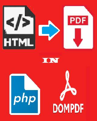 Cara Convert HTML Ke PDF di PHP Menggunakan Dompdf