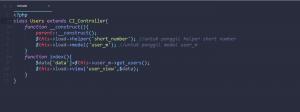 1-membuat short number di codeigniter