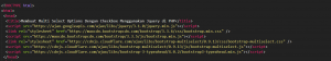 1-Membuat Multi Select Options Dengan Checkbox Menggunakan Jquery di PHP