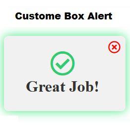 Cara Custom Box Alert Menggunakan HTML CSS dan Javascript
