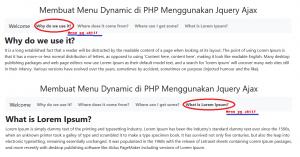 Menu-Dynamic di PHP Menggunakan Jquery Ajax