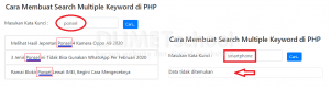 1-Cara Membuat Search Multiple Keyword di PHP